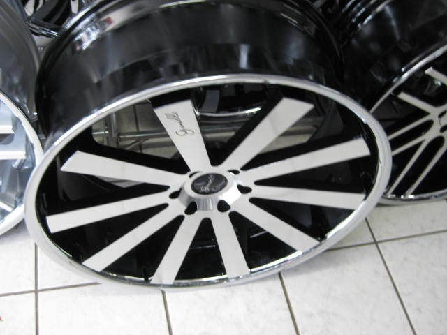 26 GIANELLE SANTO 2 SS WHEELS & TIRE GIOVANNA DUB 24 28 FORGIATO