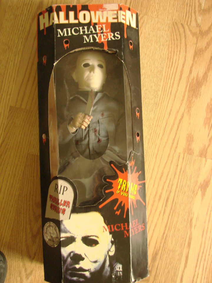 Michael Myers Rare Action figure talking Spencer gifts 1978 doll