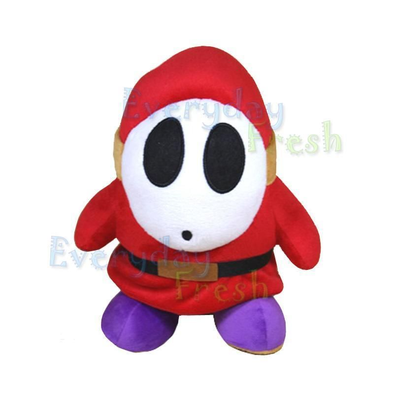 New Nintendo Super Mario Bros 9 Shy Guy Plush Doll Toy