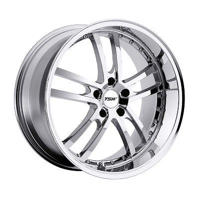 18x8 TSW Cadwell Chrome Wheel/Rim(s) 5x120 5 120 18 8 (Fits 2006 GTO)