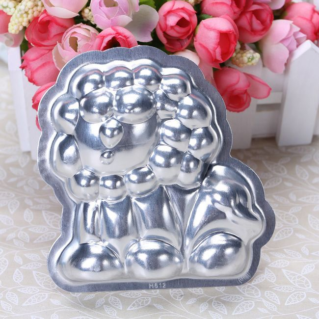 Newly listed Aluminum 3.54 Cake Pan Jello Pudding 3D Lion Mould Mold