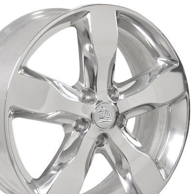 20 Polished OEM Grand Cherokee Wheels Set of 4 Rims Fit Jeep
