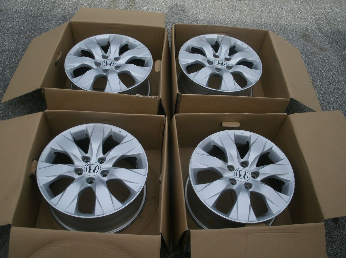 2008 2009 2010 Honda Accord 17 Wheels Rims Factory Alloy