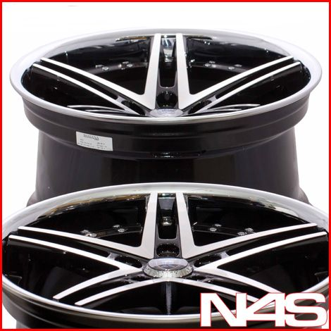 E46 325 330 Rohana RC5 Machined Concave Staggered Wheels Rims