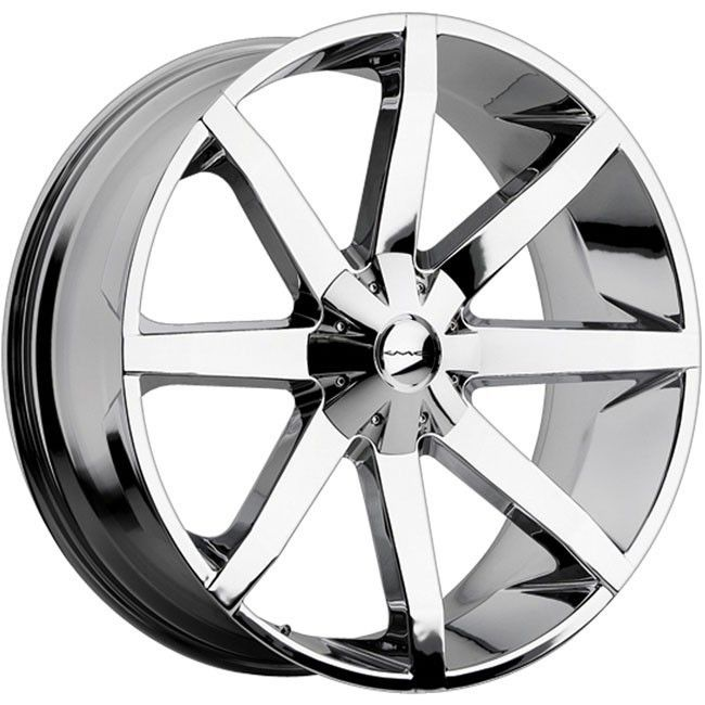 26 inch KMC Slide Chrome Wheels Rims 6x5 5 6x139 7 GX460 470 LX450
