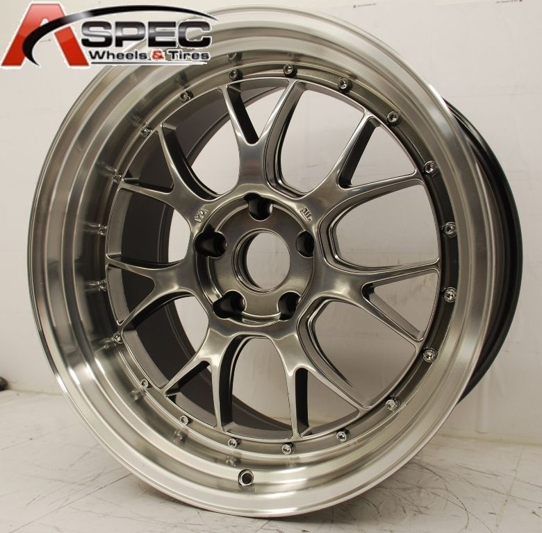 Varrstoen ES552 5x114 3 22 73 1 Hyper Black Wheel Rims 5x4 5