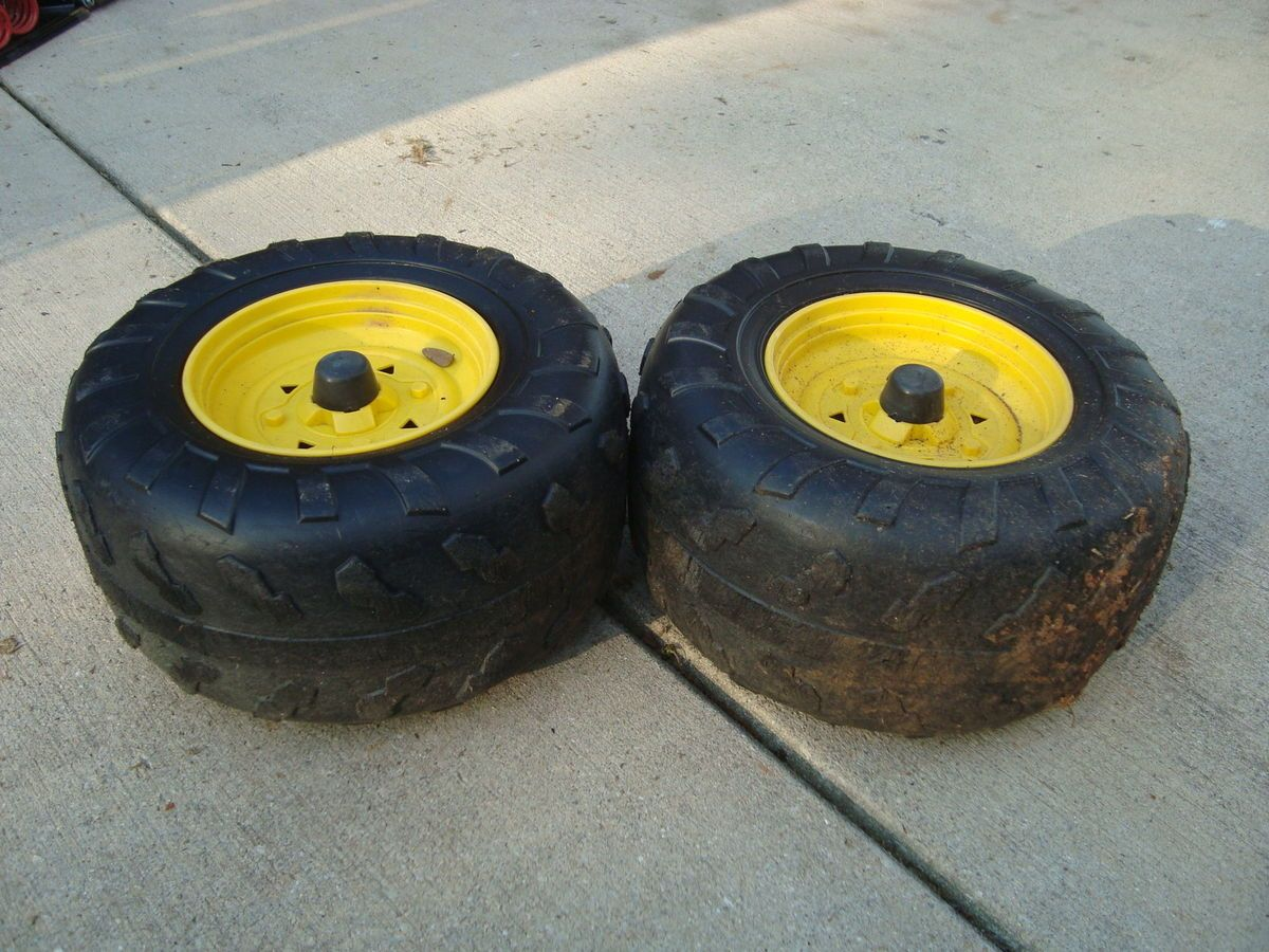 Peg Perego John Deere Buck Rear Tires Wheels