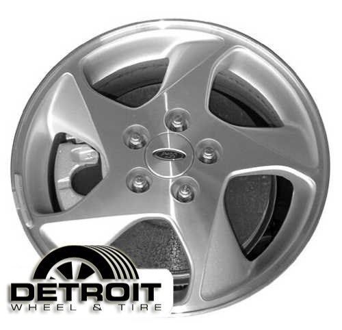 Ford Taurus Factory Wheel Rim 3505 Machined Face Silver 2002 2007