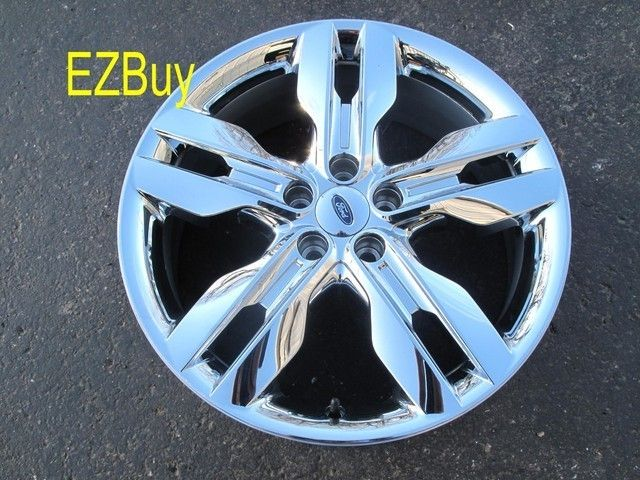 20 Ford Edge 2011 12 Factory Chrome Clad Wheel Rim 3847 120501
